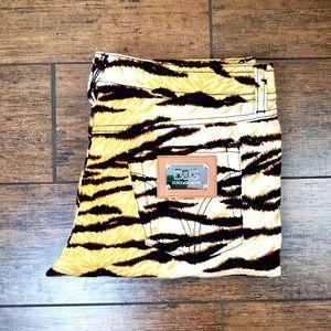 Dolce & Gabbana Tiger Stripe Capri Sz 29